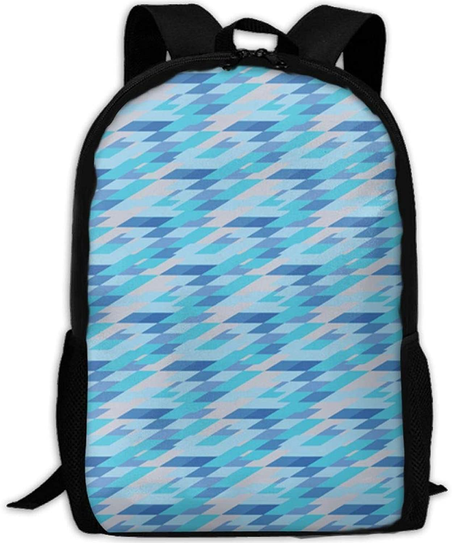 Abstract Gradient Geometry 3D Print Backpack College School Laptop Bag Daypack Travel Shoulder Bag for Unisex B07PZBG6VV  Bestätigungsfeedback