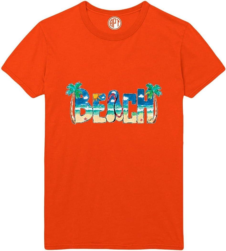 Beach Scene Printed T-Shirt