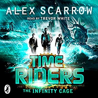 TimeRiders: The Infinity Cage (Book 9)                   By:                                                                                                                                 Alex Scarrow                               Narrated by:                                                                                                                                 Trevor White                      Length: 11 hrs and 29 mins     51 ratings     Overall 4.7