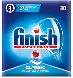 Finish Classic Powerball Dishwasher Tablets - 30 Tablets