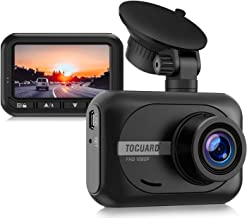 TOGUARD Mini Dash Cam 1080P Full HD Car Camera, 2.45 inch 170° Wide Angle Dash Camera for Cars Driving Recorder with WDR P...