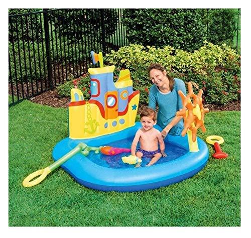 TYUIOO Piscina, piscina infantil, piscina inflable de la bola del bebé del océano, espesante Piscina de arena 140 * 130 * 104cm Piscina familiar, Partido de agua de verano niños pequeños para edades 3