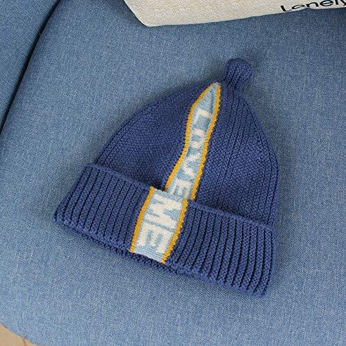 wtnhz Artículos de Moda Sombrero de Lana para bebé para otoño e Invierno Gorro de Lana para niños cálidosRegalo de Vacaciones