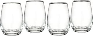 Marquis by Waterford Vintage All Purpose Stemless Wine, Set of 4 [並行輸入品]