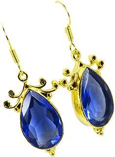 cz gold earrings india