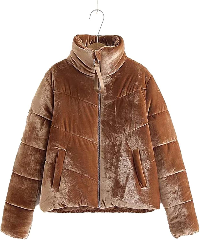 Nat terry Women Cotton Padded Basic Jacket Coat Warm bluee Parkas Jackets Female Winter Jacket Outerwear