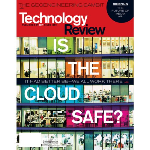Audible Technology Review, January 2010 cover art