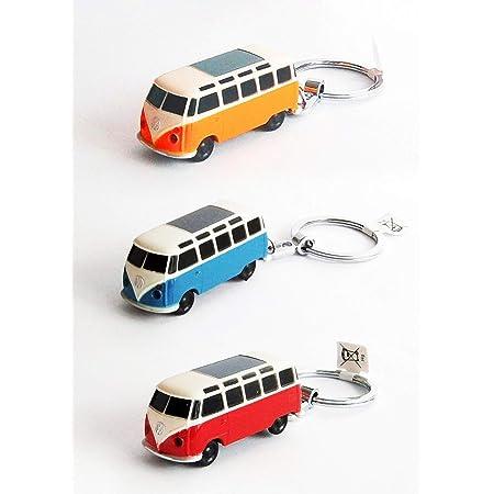 Vw Bulli T1 Schlüsselanhänger Mit Led Taschenlampe Volkswagen T1 Schlüssel Ring Vw Bus Schlüsselring Led Mit Led Taschenlampe Küche Haushalt