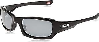 Men's Oo9238 Fives Squared Rectangular Sunglasses