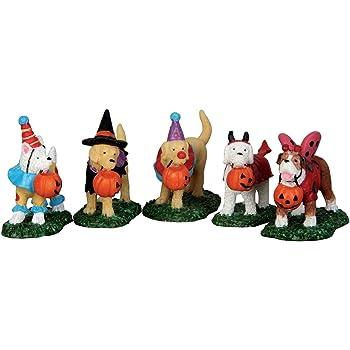 Ganz Pumpkin Patch Kids Boy and Girl Figurines Set of 2 Assorted
