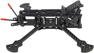 Cigou HGLRC Sector Freestyle 5 Inch / 6 Inch / 7 Inch Wheelbase 226/260/296mm Arm 5mm 3K Carbon Fiber Frame Kit for RC Drone FPV Racing (C)