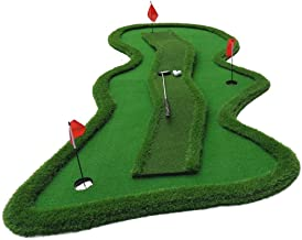 JGWHW Golf Green Putting Trainer Bridge Combination Green Indoor Trainer