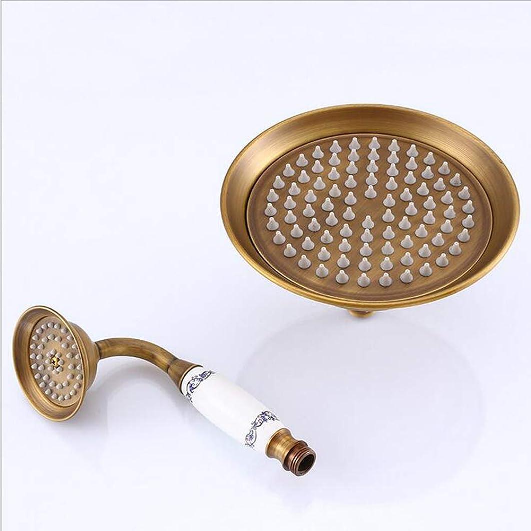 ショップレジ煩わしいシャワー銅シャワーヘッド-強力な高圧シャワー-シャワー高圧水シャワー,A