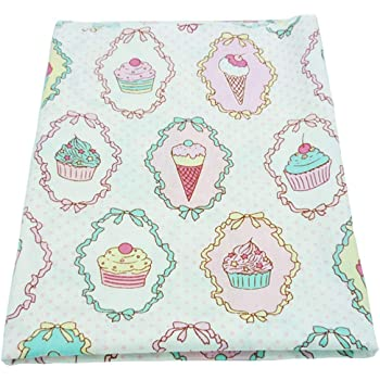 una pieza 50cm * 160cm torta impresa tela de algodón,telas para ...