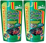 Hikari 8.8-Ounce Cichlid Staple Floating Pellets, Large [2-Pack]