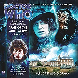 Doctor Who - Trail of the White Worm cover art