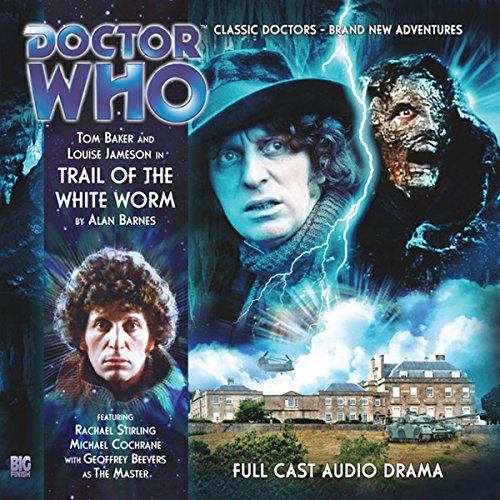Doctor Who - Trail of the White Worm audiobook cover art