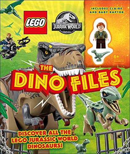 LEGO Jurassic World The Dino Files: With LEGO Jurassic World Claire minifigure and baby raptor!