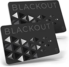Blackout by AKIELO – Ultra Thin RFID Blocking Card (2 x Pack) – The Single Solution to Contactless Card Protection – The U...