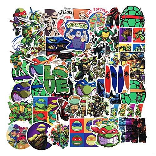 SEBADA 50Pcs Teenage Mutant Ninja Turtles Stickers for...