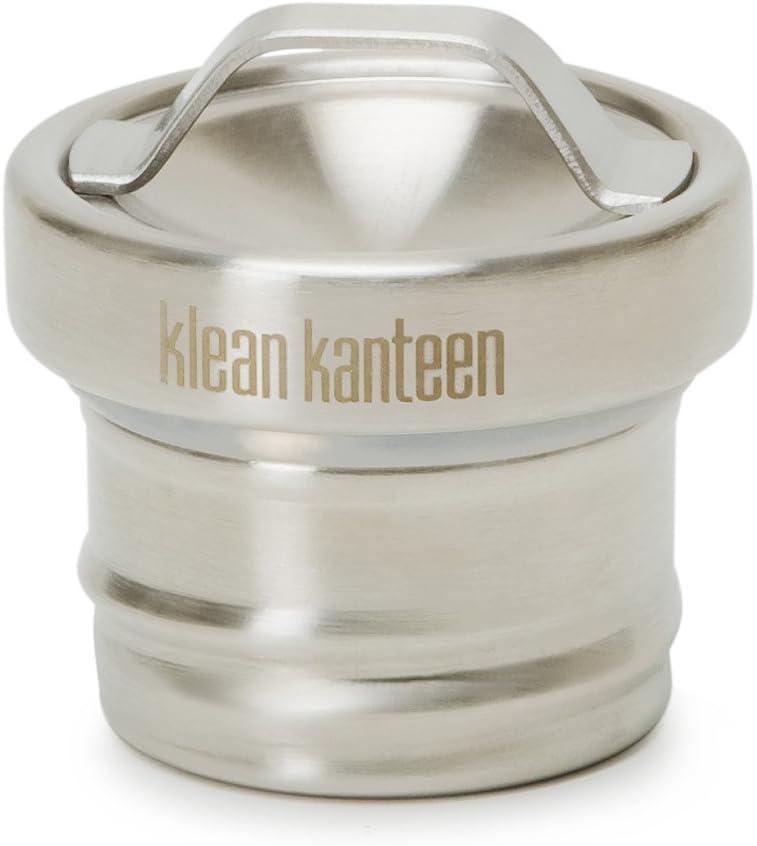 Klean Kanteen Stainless Steel Loop Cap, One Piece Stainless Steel Leak Proof Water Bottle Cap