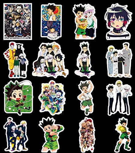 DSSJ Full-Time Hunter Characters Stickersthicken Crystal Card Stickers Matte Card Stickers Classic Manga Anime Sticker S 50Pcs/Set