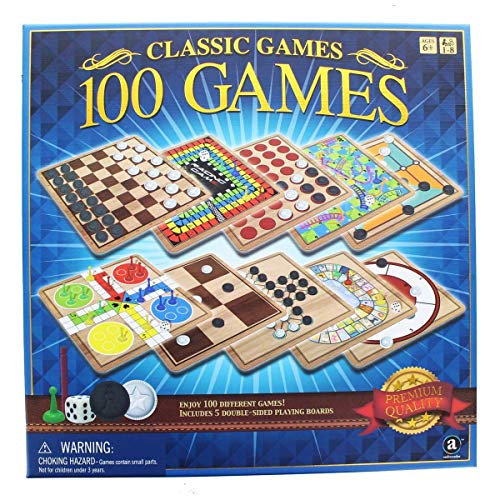 family board games Classic 100 Games Perfect family games!