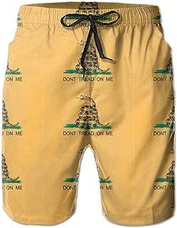 Gadsden Flag Mens Swim Trunks Board Shorts
