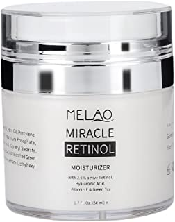 Retinol anti aging Antioxidant Face Moisturizer Revitalizing anti skrynkla grädde kråksparkar rynkor Fine Lines Day och Ni...