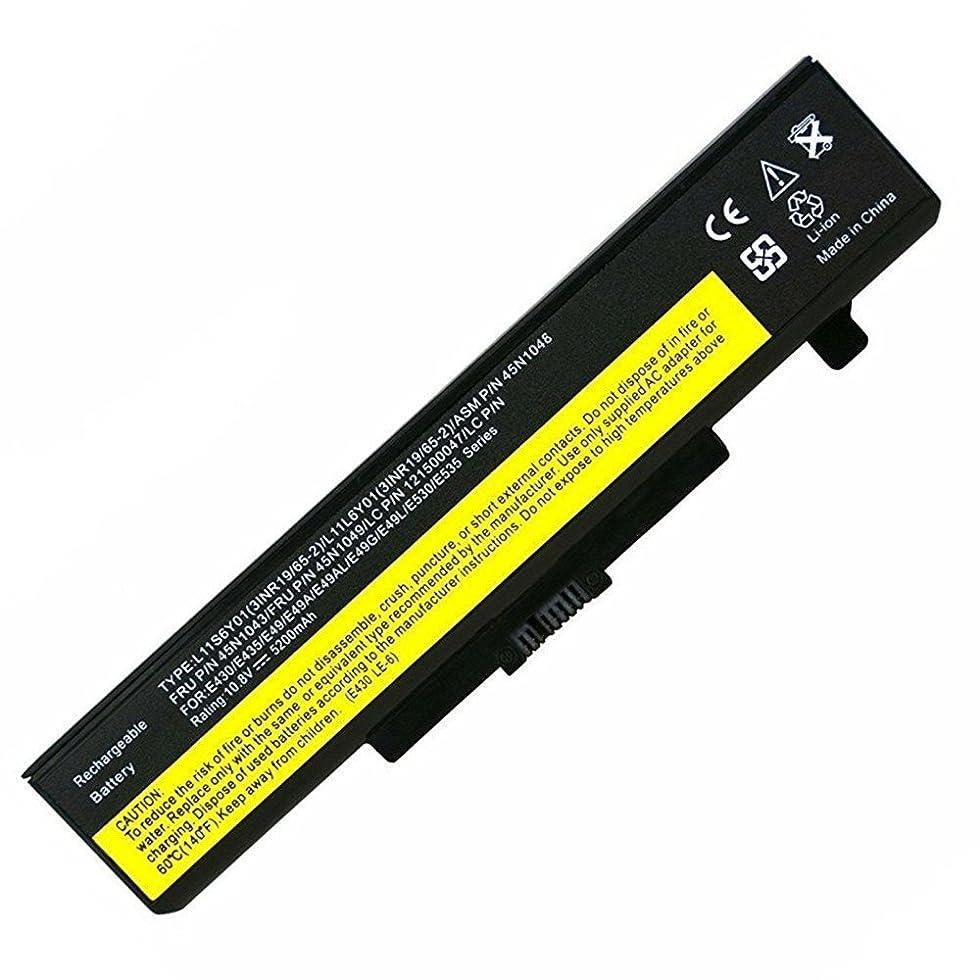 誰カトリック教徒召集するノートパソコンのバッテリー10.8V 5200Mah 45N1043 Laptop Battery for Lenovo V380 B590 G580 Y580 Z580 V380 E435 E440 E445 E530 E540 E545 l11s6y01 l11m6y01 l11l6y01 l11p6r01 0a36311 ート用PC 互換バッテリー 交換用充電池