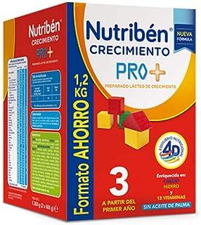 Nutribén 8430094309109 Leche Crecimiento Pro + 3 Formato