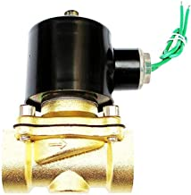 3/4 Inch 24 VAC Normally Closed Brass Solenoid Valve