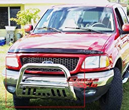 ORYX B1001HM Matte Black Carbon Steel Bull Bar Fits Chevy//GMC Silverado//Sierra Heavy Duty 2001-2006