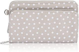 Thirty One Perfectセント財布in Taupe Dancing Dot?–?Noモノグラム?–?4808