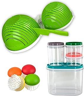 Chopping Board Vegetable Slicer Salad Kit 7