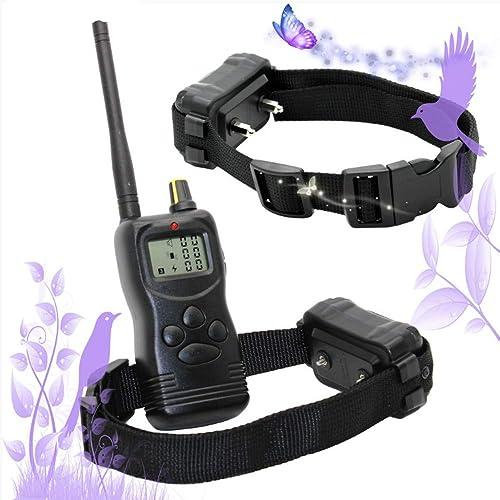 Envío y cambio gratis. Yshen Collar de Adiestramiento para Perros Perros Perros Collar 100 Niveles 1000meter Remoto  Venta barata