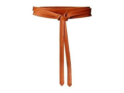 ADA Collection Midi Wrap Belt (Pastel Papaya) Women