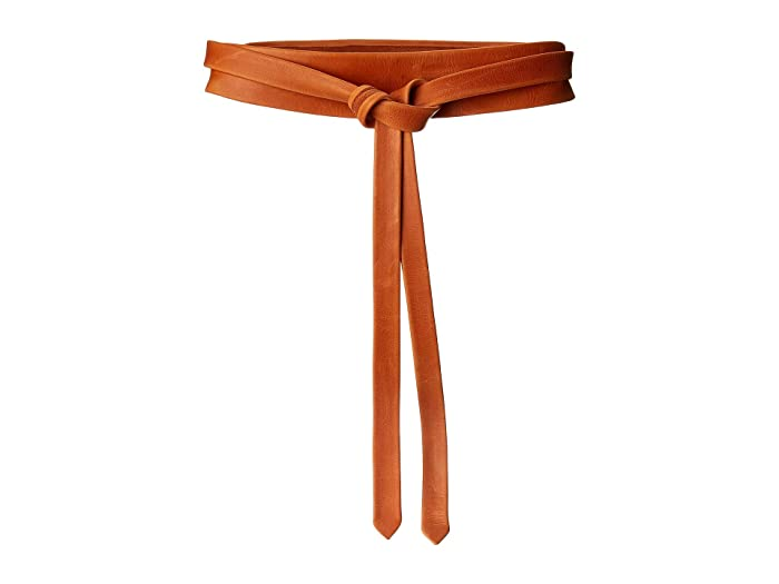 ADA Collection Midi Wrap Belt (Pastel Papaya) Women