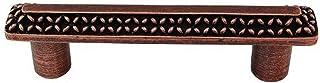 Vicenza Designs P1150 Gioiello 3-Inch Kisses Pull, Antique Copper