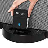 CHOOCL ChooDock 30 pin Bluetooth 5.0 Adapter Receiver for Bose SoundDock and Other iPhone iPod 30 pin Music Docking Station Speakers