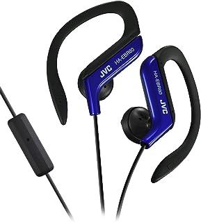 JVC HAEBR80A Sports Clip High Quality Headphones (Blue)