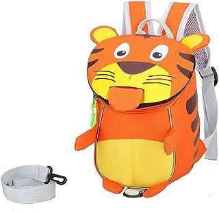 VIDOSCLA لطيف على شكل أسد حقيبة ظهر للأطفال الصغار الحضانة Daypack الحضانة حقيبة الأطفال حقيبة رياض الأطفال حقيبة مدرسية