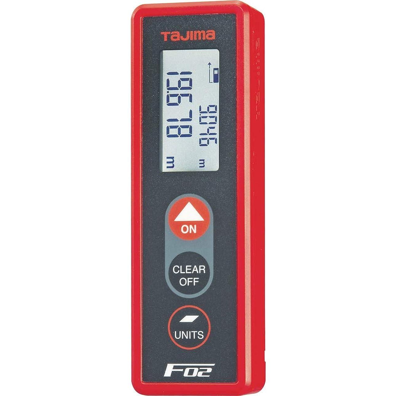楽なバイアス偶然タジマ レーザー距離計 F02レッド PSC認定取得品 LKT-F02R