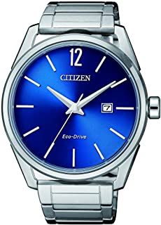 ساعة سيتيزن كاجوال انالوج للرجال من ستانلس ستيل - BM7411-83L