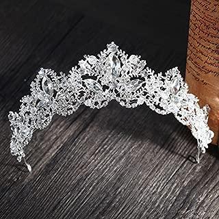 Generic crown tiara bride headdress 2018 new wedding dress with jewelry aosphere Wangguan J wine Korean princess hair accessories hair bands