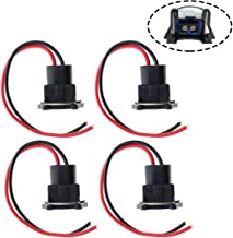 MOTOALL Fuel Injector Connector EV1 OBD1 Wiring Plug Wire Harness Pigtail Clip for TPI LT1 LS1 LS6 RC TRE – Pack of 4
