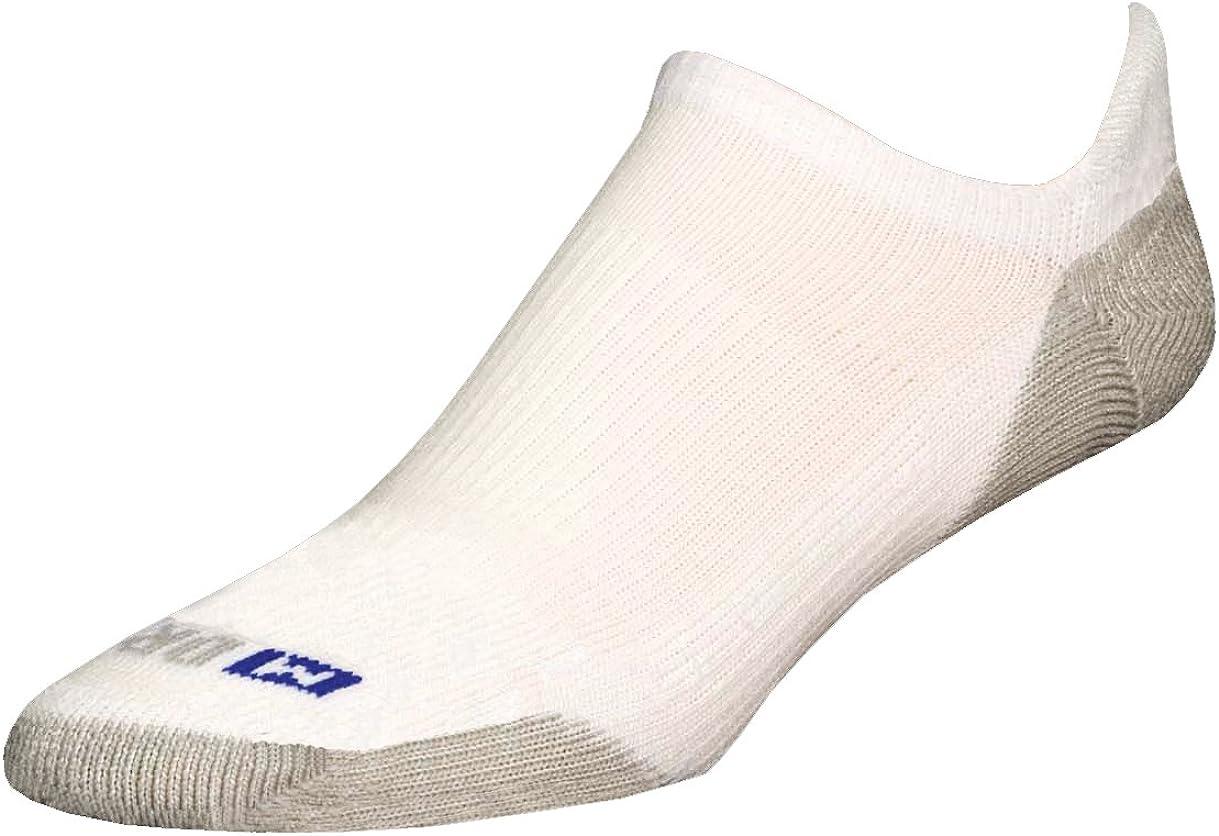 Drymax Socks Running No Show Tab Grey Sock White L US Excellent Las Vegas Mall