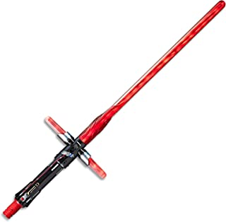 STAR WARS - The Last Jedi - Kylo Ren Deluxe Lightsaber with lights & sound effects - Bladebuilders compatible - Kids Dress Up Toys -  Ages 4+