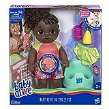 Baby Alive - Va Sur Le Pot - Poupee Cheveux Noirs - Parle en français