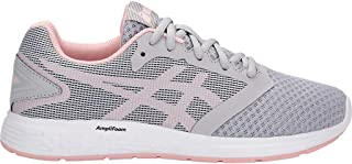 Women's Patriot 10 Running Shoes, 7M, MID Grey/Frosted Rose